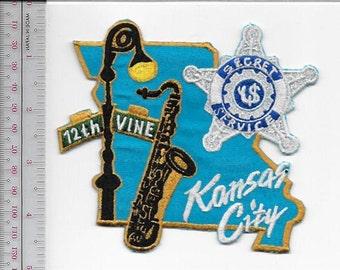 US Secret Service USSS Missouri Kansas City Field Office Agent Service Vine & 12th Patch