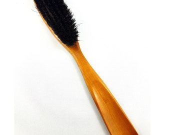 Vintage Shoe Brush Horn, Shoe Brush, Shoe Horn, Made In Germany, German Shoe brush, MCM Shoe brush and horn, Gift Idea