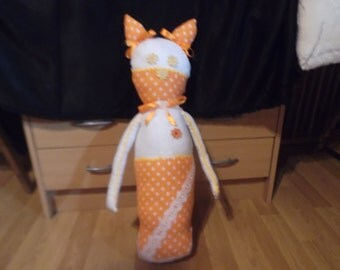 Mama cat plush toy