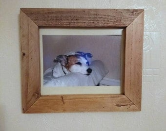 Rustic 8x10 photo frame