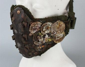 Post Apocalyptic Mask - Motorcycle Mask - Mad Max Respirator - Fallout Gas Mask - Burning Man Gasmask - Immortan Joe