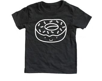Kawaii Donut  Infant Toddler T Shirt, Baby kid graphic tee,  doughtnut tee, kawaii food shirt, kawaii doughnut tee modern hipster kids shirt