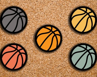 96 Basketball Sport Icon Planner Stickers for 2017 inkWELL Press, Erin Condren, Plum Paper IWP-DC90
