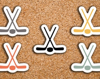 80 Hockey Stick & Puck Sport Icon Planner Stickers for 2017 inkWELL Press, Erin Condren, Plum Paper IWP-DC92
