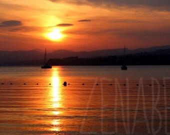 Sunset - photo print high quality