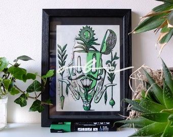 Poster - Pascal vegetal germ of the cerebral