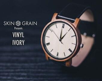 Engraved Wooden Watch, Mens wood watches, Engraved watch, wood watch Wooden Watch, Personalised watch, Groomsmen Gift, Boyfriend Gift,