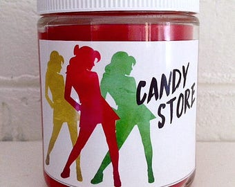 CANDY STORE - Heathers Fandom-Inspired Soy Candle