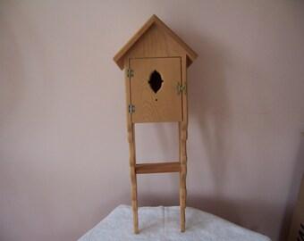 Unfinished Wood Victorian Decorative Birdhouse