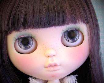 Gray Realistic Blythe doll eyechips