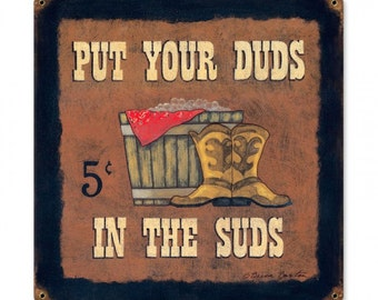 Put Your Duds In The Suds