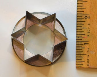 """Stainless Steel Heavy Duty STAR OF DAVID Cookie Cutter 