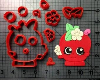 Shopkins Apple Blossom Cutter