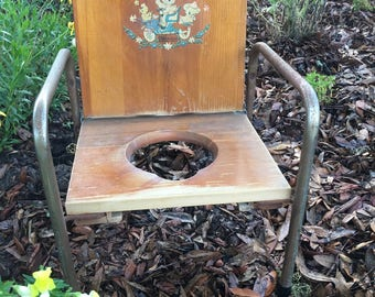 Potty Seat, Vintage Chair