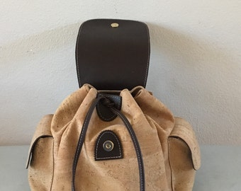 Vegan Cork lightweight backpack. 2201