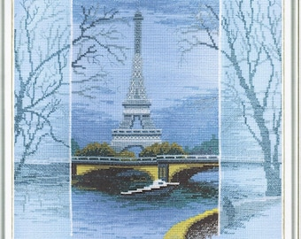 Counted Cross Stitch Kit To see Paris...