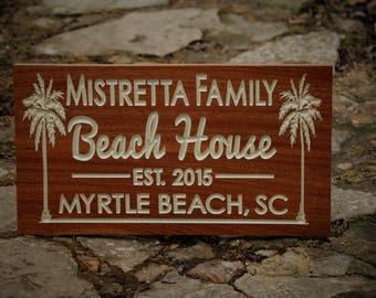 Beach Wedding Signs Beach Wedding Decor Nautical Decor Personalized Beach Signs Nautical Signs Shore House Outdoor Personalized Beach House