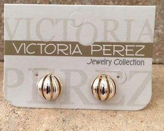 Stud Earrings | Gold & Silver plated