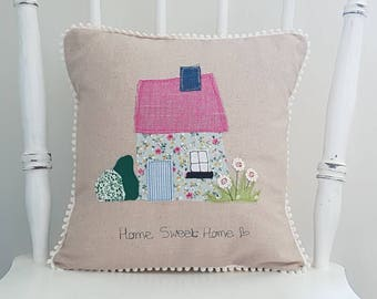 Home sweet home cushion, home sweet home pillow, decorative cushion, decorative pillow, house warming gift, cushion cover, pillow cover