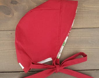 STRAWBERRY FIELDS Bonnet - RED