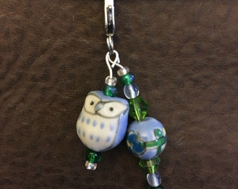 Blue Owl Planner Charm