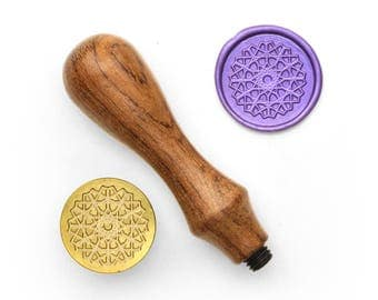 Mandalas Pattern - 59 - Design OD Wax Seal Stamp (DODWS0371)