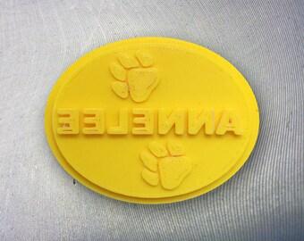 Custom made soap mold,