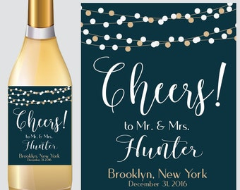 Wedding WINE BOTTLE LABEL, Custom Wine Labels Wedding, Wedding Wine Labels, Custom Wine Labels, Wedding Decor, Reception Decorations
