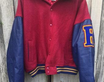 Reebok Letterman Jacket