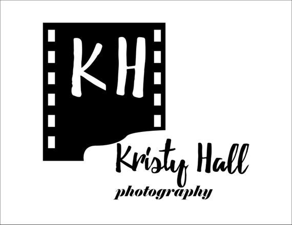 Photography Logo - Digital File - Handmade Logo for Photographer or Photography Studio