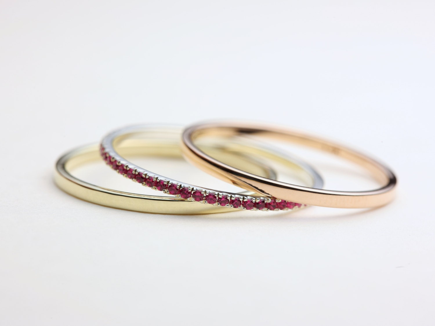 thin stacking rings stacking ring set gold stacking rings. Black Bedroom Furniture Sets. Home Design Ideas
