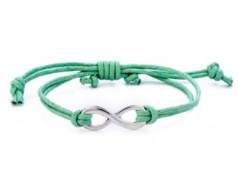 Infinity Bracelet // Friendship Bracelet // Simple Bracelet // Delicate Bracelet // Knot Bracelet // String Bracelet // Rope Bracelet