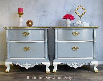 PAIR of Nightstands by Lexington