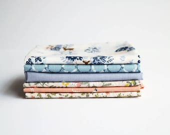 Spring Breeze Fat Quarter Bundle (6 Quilting weight cottons) : Dailylike Canada