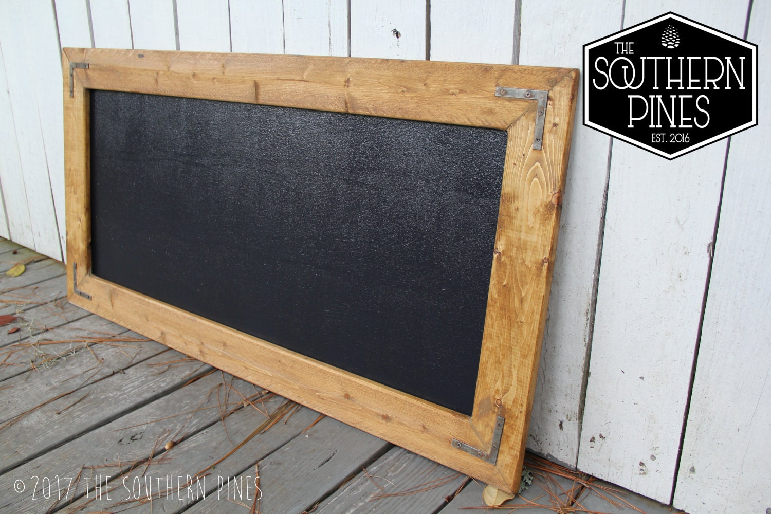 Large Hanging Chalkboard Farmhouse Chalkboard The Southern Pines