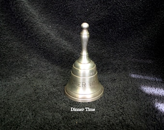 Vintage Dinner Time Bell, Great Gift for the Cook in Your Family