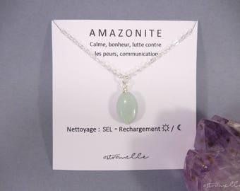 Star Amazonite necklace
