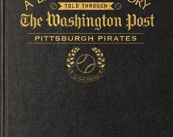 Washington Post Pittsburgh Pirates Baseball Book - Leather