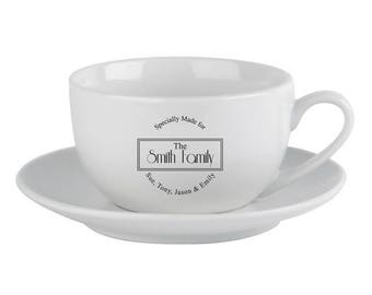 Specially Made For Cup & Saucer