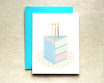 simple birthday card  etsy, Birthday card