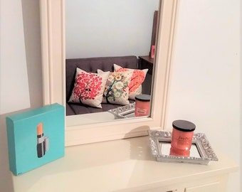 Small Floating Vanity or Makeup Table