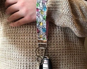 Dotty Chic Key Fob