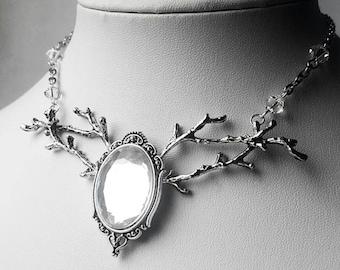 Melandrial Forest Elf Inspired Pendant Necklace
