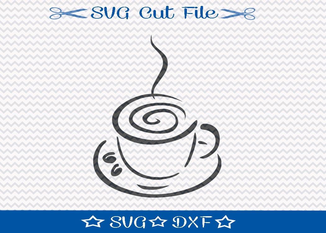 Download Coffee Cup SVG File / SVG Cut File / SVG Download
