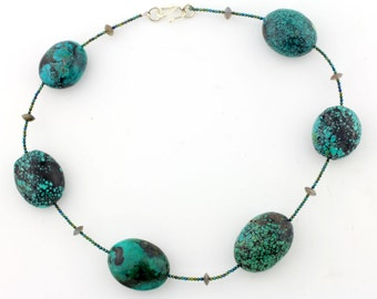 Turquoise necklace KT4588