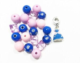 Girls bead bracelet kit