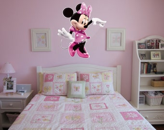 Large Minnie Mouse Wall Decal Room Decal Sticker Mural Part 98