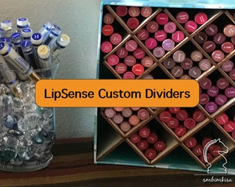 LipSense display, LipSense Holder, Lipstick Stand, LipSense Stand, Tradeshow Display, Custom Dividers