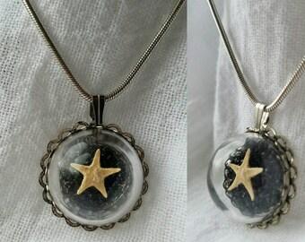 Preserved Starfish Pendant