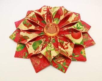 fold n stitch wreath pattern pdf